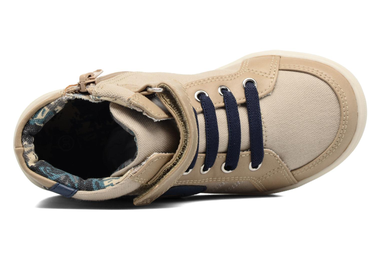 Deportivas I Love Shoes FELIX Beige vista lateral izquierda