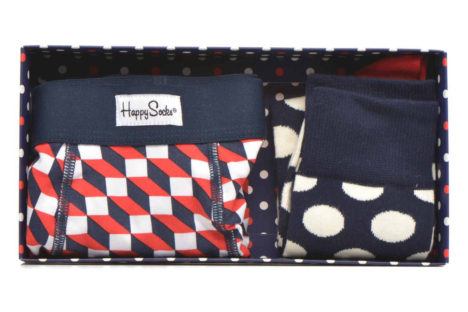 Socks & tights Happy Socks Filled Optic Men's Trunk & Sock Combo Multicolor view from the left