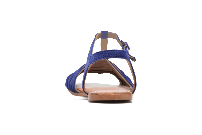 Sandali e scarpe aperte I Love Shoes KETRES Leather Azzurro immagine destra