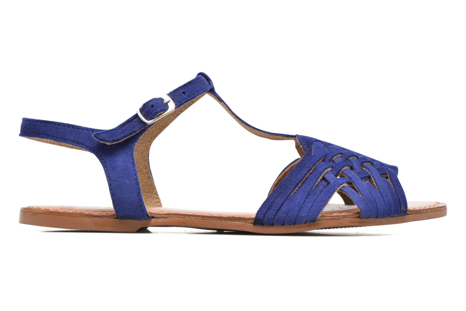 Sandals I Love Shoes KETRES Leather Blue back view