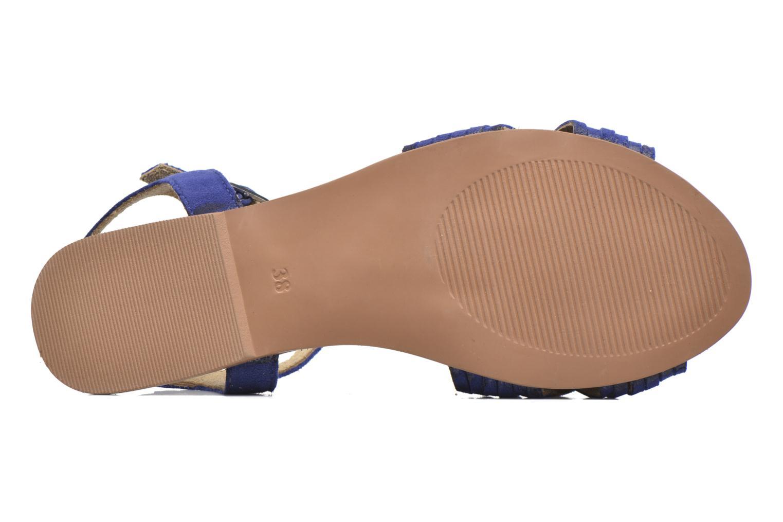 Sandali e scarpe aperte I Love Shoes KETRES Leather Azzurro immagine dall'alto