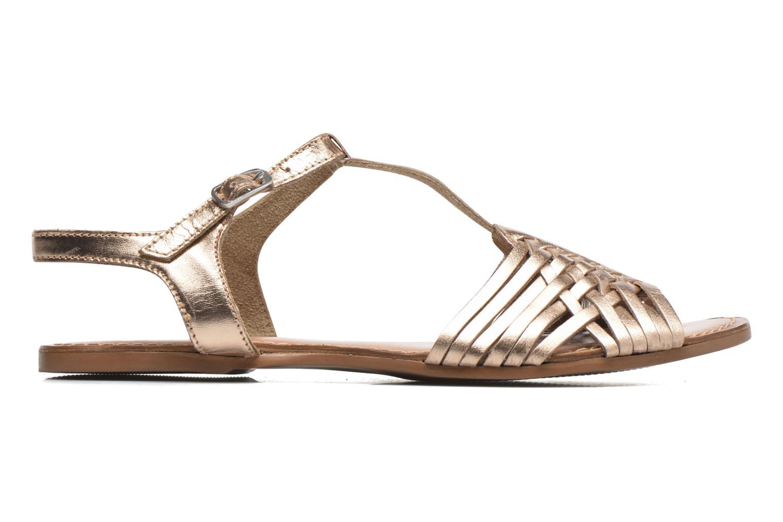 Sandalias I Love Shoes KETRES Leather Oro y bronce vistra trasera