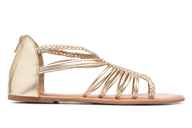 Sandalias I Love Shoes KEMIA Leather Oro y bronce vistra trasera