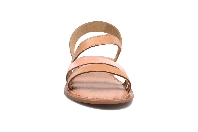 Sandalen I Love Shoes KEUNI Leather braun schuhe getragen