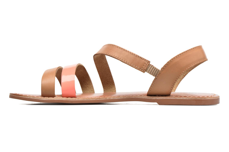 Sandales et nu-pieds I Love Shoes KEUNI Leather Marron vue face