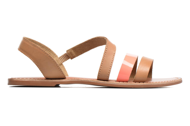 Sandales et nu-pieds I Love Shoes KEUNI Leather Marron vue derrière