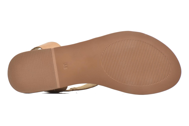 Sandales et nu-pieds I Love Shoes KEUNI Leather Marron vue haut