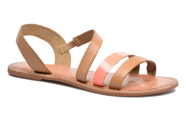 Sandales et nu-pieds I Love Shoes KEUNI Leather Marron vue détail/paire