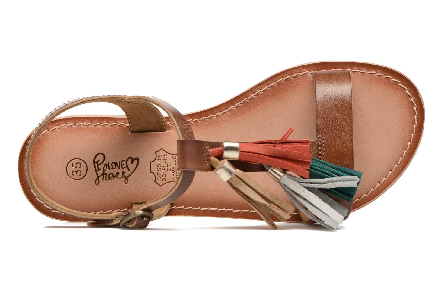 KEPOM multi Love I Leather goat tan Shoes amp; buff xzwnp