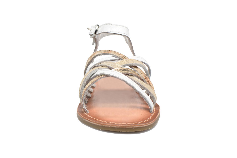 Sandales et nu-pieds I Love Shoes KEMULT Leather Blanc vue portées chaussures