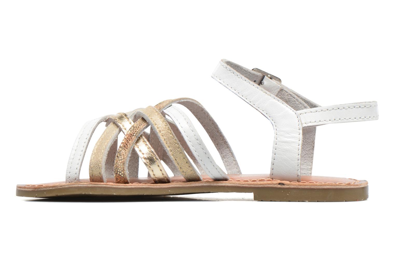 Sandales et nu-pieds I Love Shoes KEMULT Leather Blanc vue face