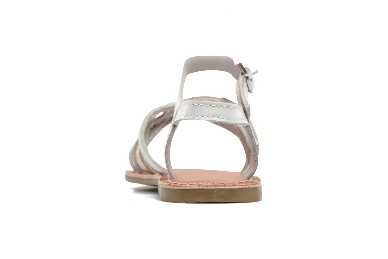 Sandales et nu-pieds I Love Shoes KEMULT Leather Blanc vue droite