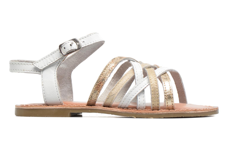 Sandales et nu-pieds I Love Shoes KEMULT Leather Blanc vue derrière