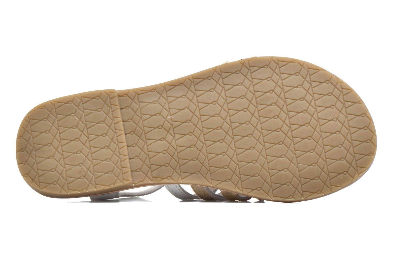 Sandales et nu-pieds I Love Shoes KEMULT Leather Blanc vue haut