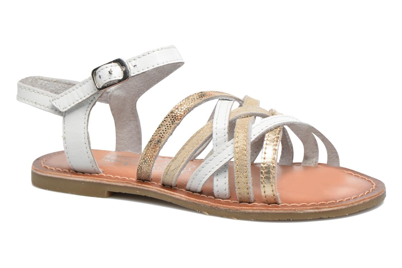 Sandales et nu-pieds I Love Shoes KEMULT Leather Blanc vue détail/paire