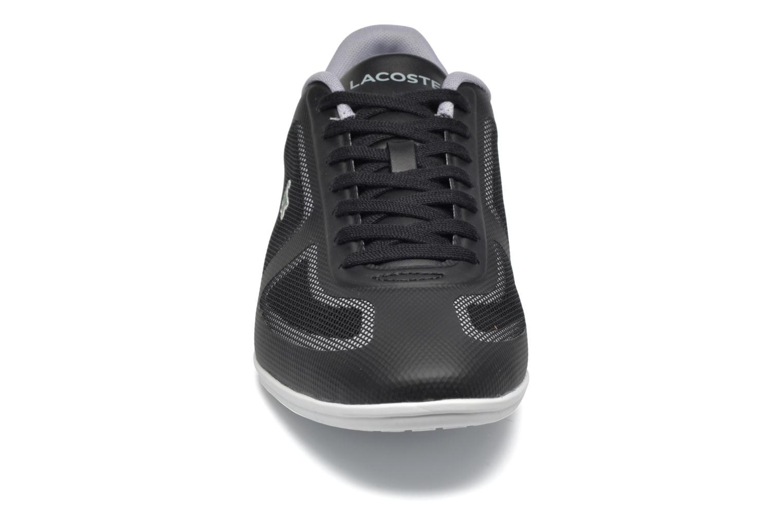 Baskets Lacoste Misano Evo 117 1 Gris vue portées chaussures