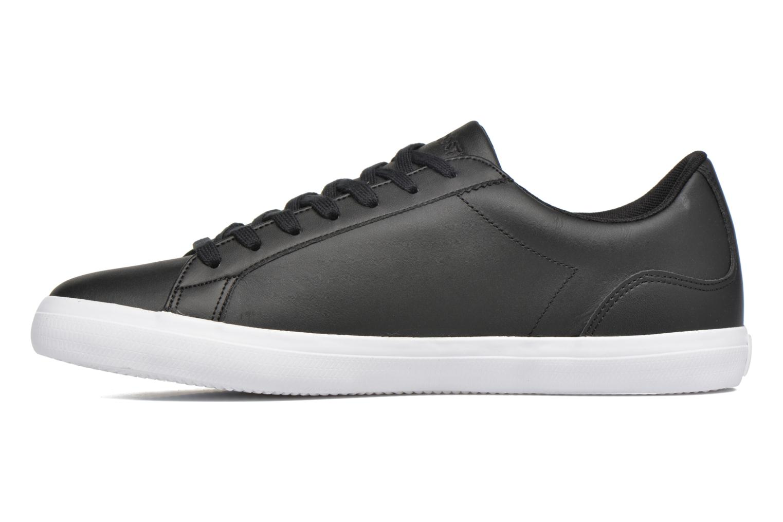 Sneaker Lacoste Lerond BL 1 schwarz ansicht von vorne