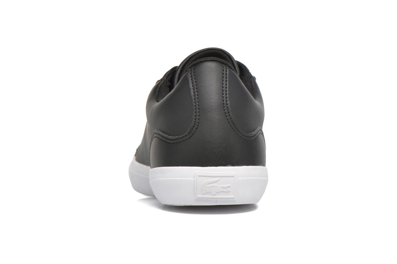 Sneaker Lacoste Lerond BL 1 schwarz ansicht von rechts