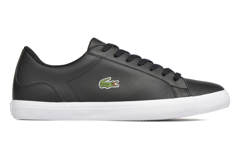 Sneaker Lacoste Lerond BL 1 schwarz ansicht von hinten