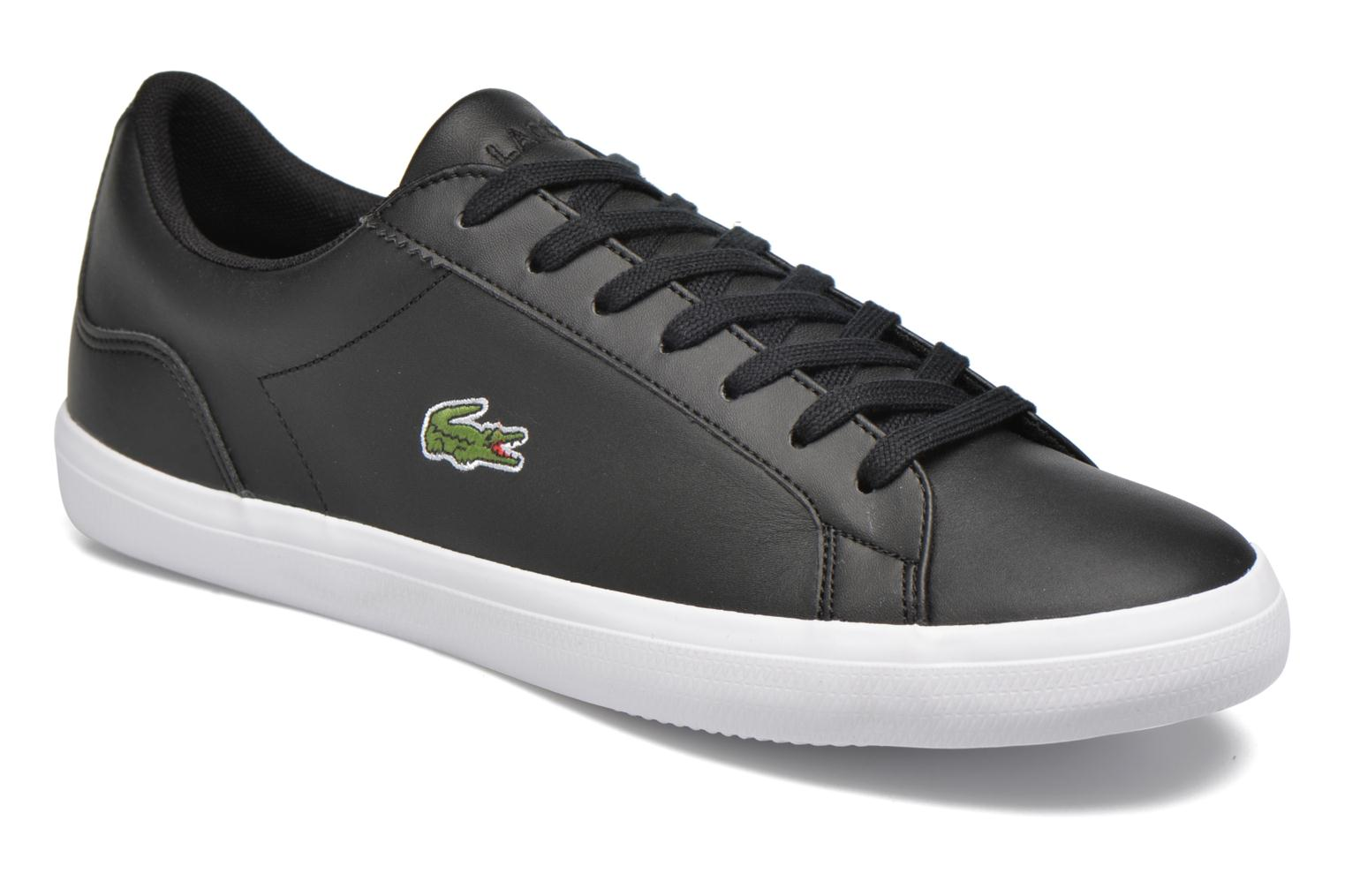 Trainers Lacoste Lerond BL 1 Black detailed view/ Pair view