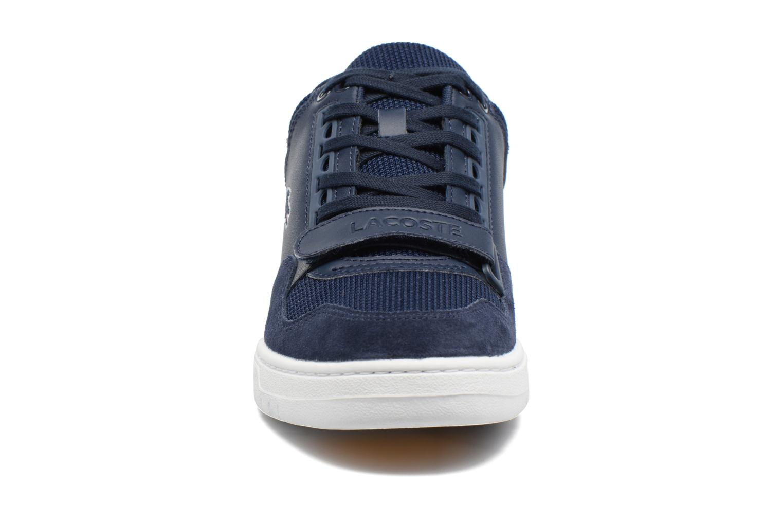 Baskets Lacoste Missouri G117 2 Spm Bleu vue portées chaussures