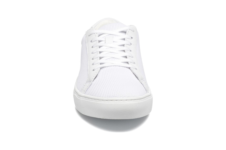 Baskets Lacoste L.12.12 BL 2 Blanc vue portées chaussures