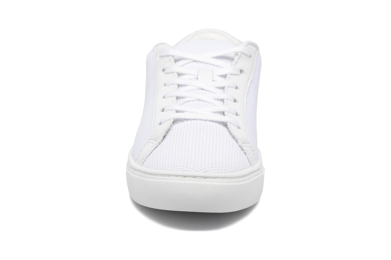 Baskets Lacoste L.12.12 Bl 2 W Blanc vue portées chaussures