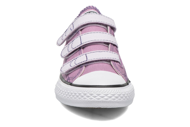Baskets Converse Chuck Taylor All Star 3V Rose vue portées chaussures