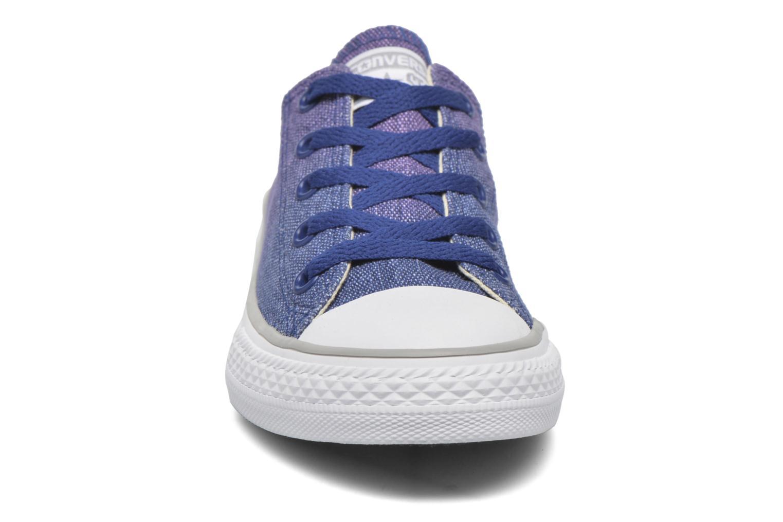 Baskets Converse Chuck Taylor All Star Sunset Wash Violet vue portées chaussures