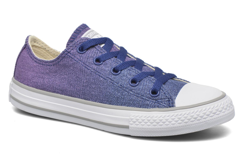 Baskets Converse Chuck Taylor All Star Sunset Wash Violet vue détail/paire