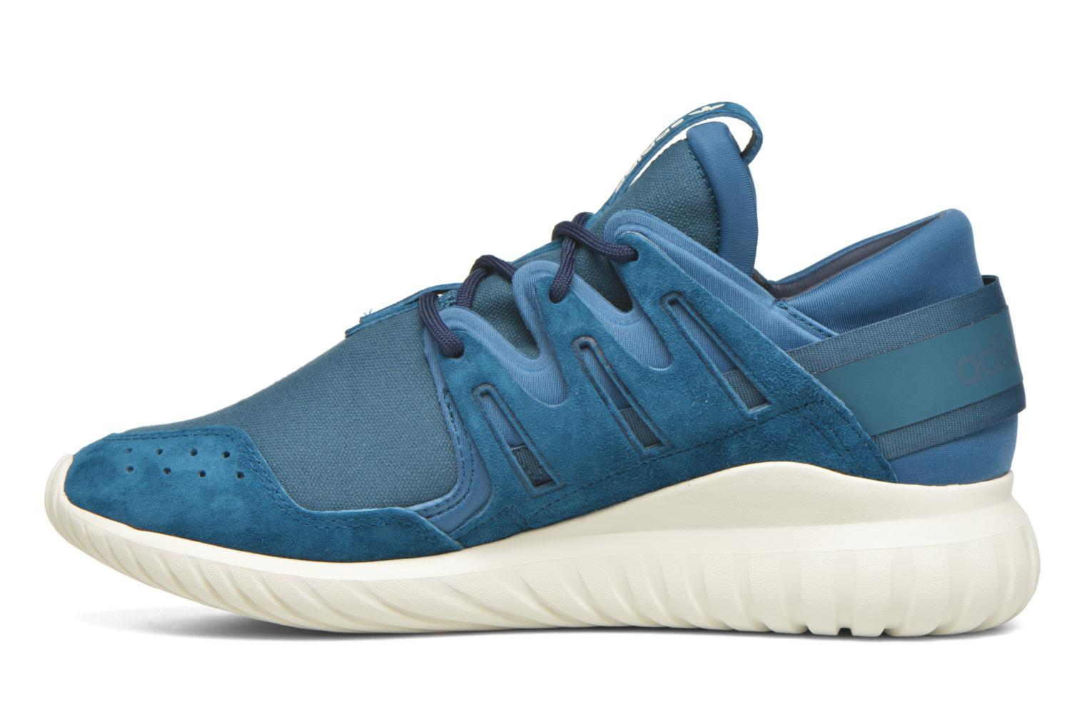 Baskets Adidas Originals Tubular Nova Bleu vue face