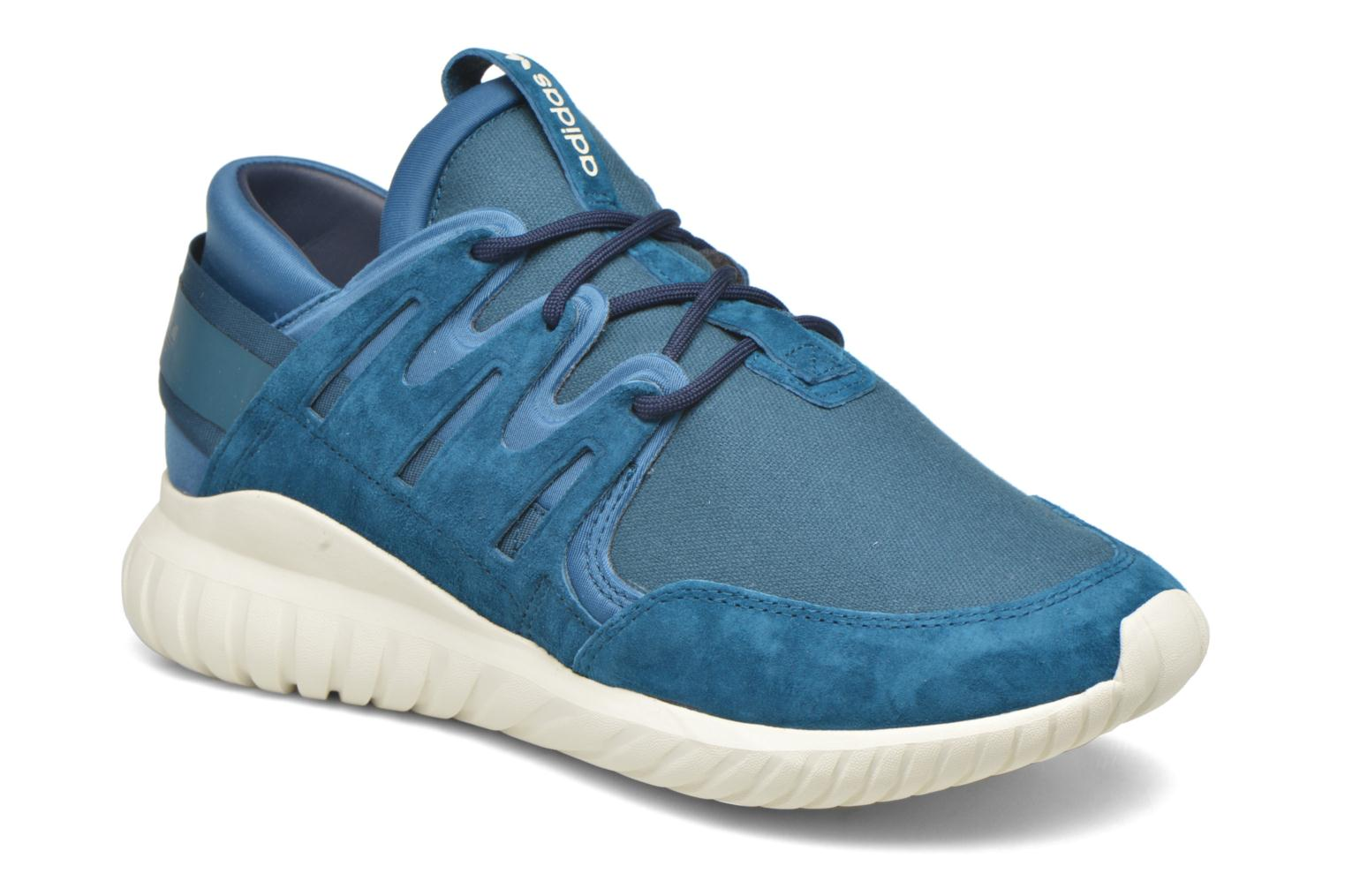 Baskets Adidas Originals Tubular Nova Bleu vue détail/paire