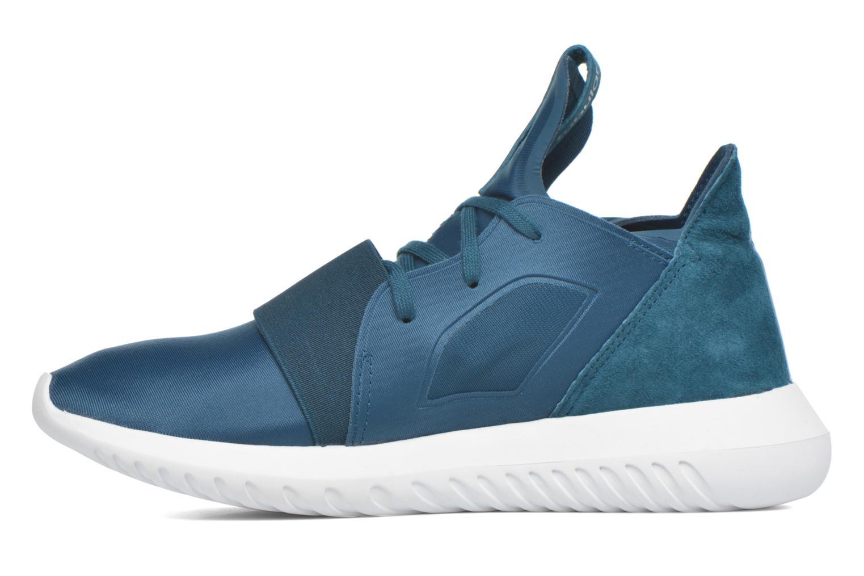Baskets Adidas Originals Tubular Defiant W Bleu vue face