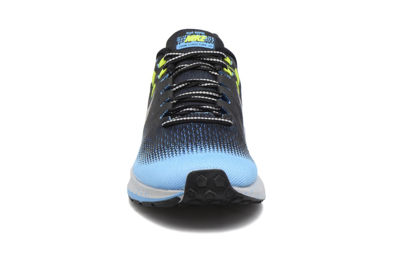 Chaussures de sport Nike Air Zoom Structure 20 Shield Noir vue portées chaussures
