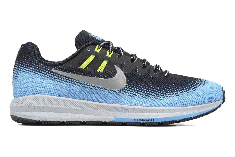 Chaussures de sport Nike Air Zoom Structure 20 Shield Noir vue derrière