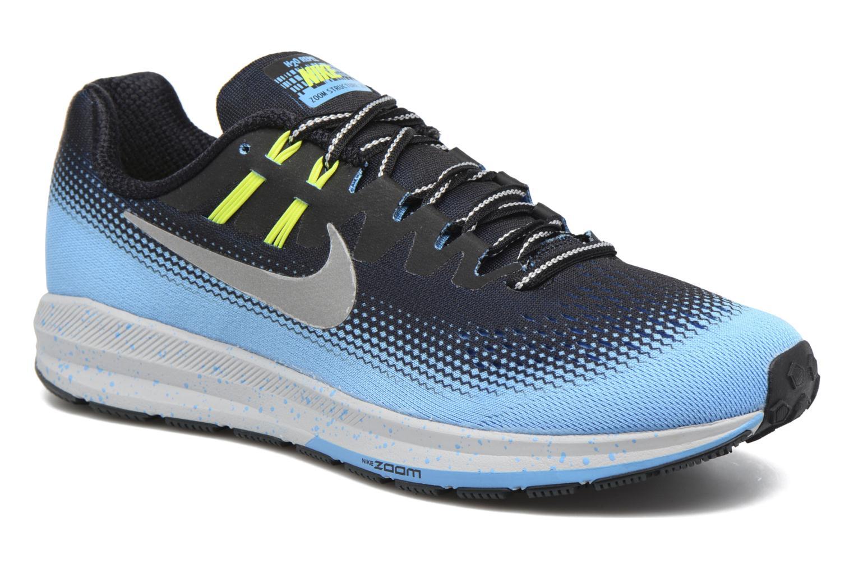 Chaussures de sport Nike Air Zoom Structure 20 Shield Noir vue détail/paire