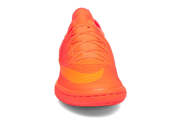 Chaussures de sport Nike Mercurialx Finale Ii Ic Orange vue portées chaussures