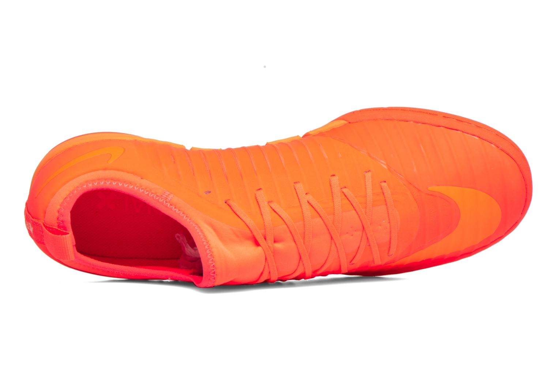 Chaussures de sport Nike Mercurialx Finale Ii Ic Orange vue gauche