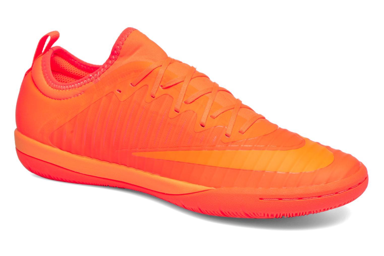 Chaussures de sport Nike Mercurialx Finale Ii Ic Orange vue détail/paire