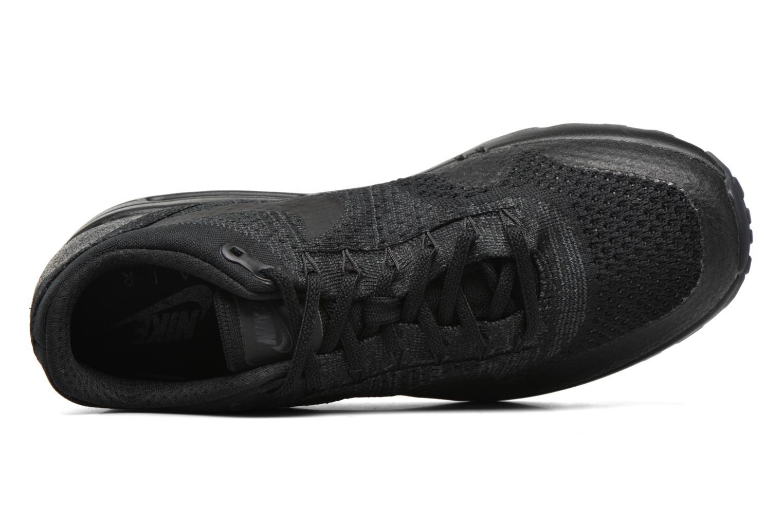Baskets Nike Nike Air Max 1 Ultra Flyknit Noir vue gauche
