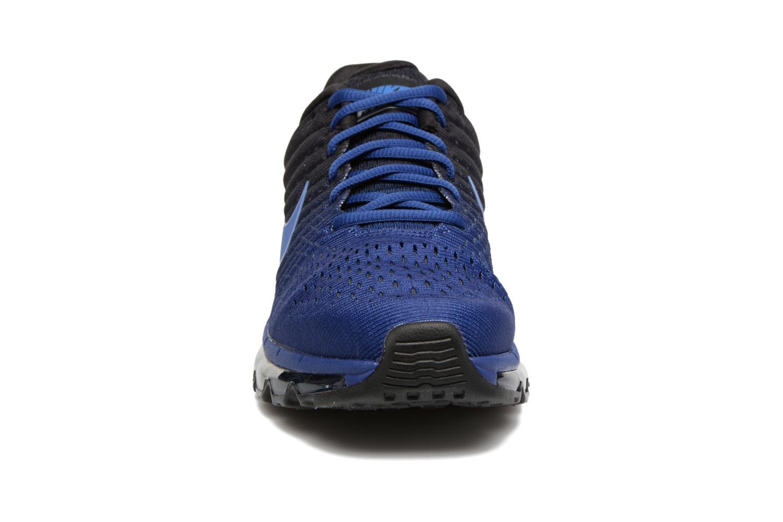 Sportschuhe Nike Nike Air Max 2017 blau schuhe getragen