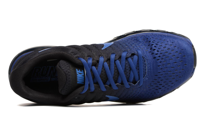 Sportschuhe Nike Nike Air Max 2017 blau ansicht von links