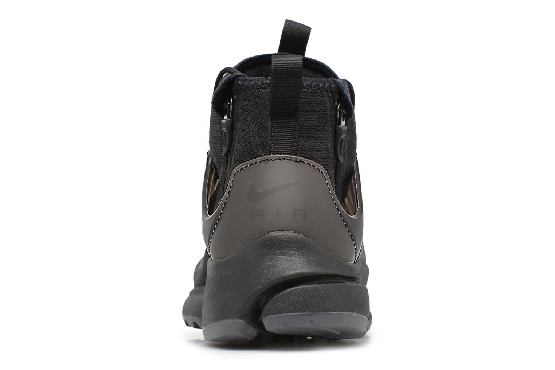 Deportivas Nike Nike Air Presto Mid Utility Negro vista lateral derecha