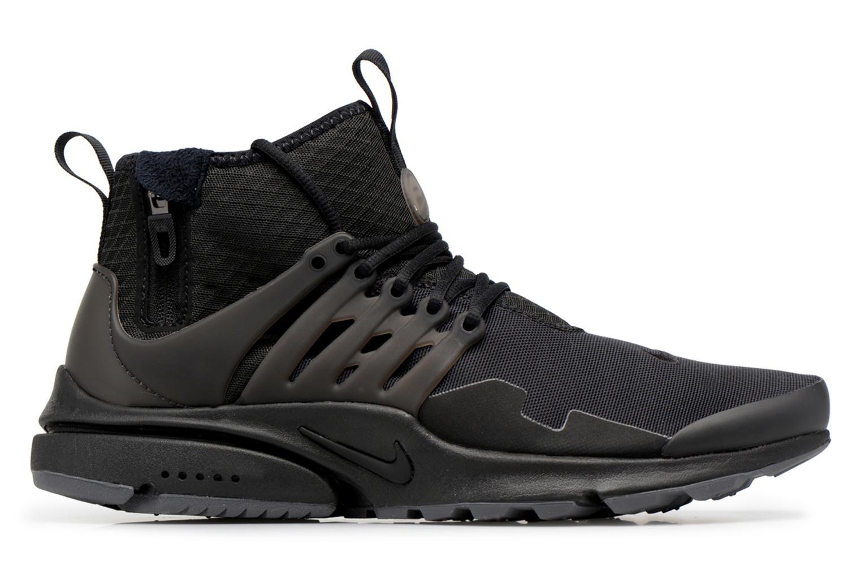Deportivas Nike Nike Air Presto Mid Utility Negro vistra trasera