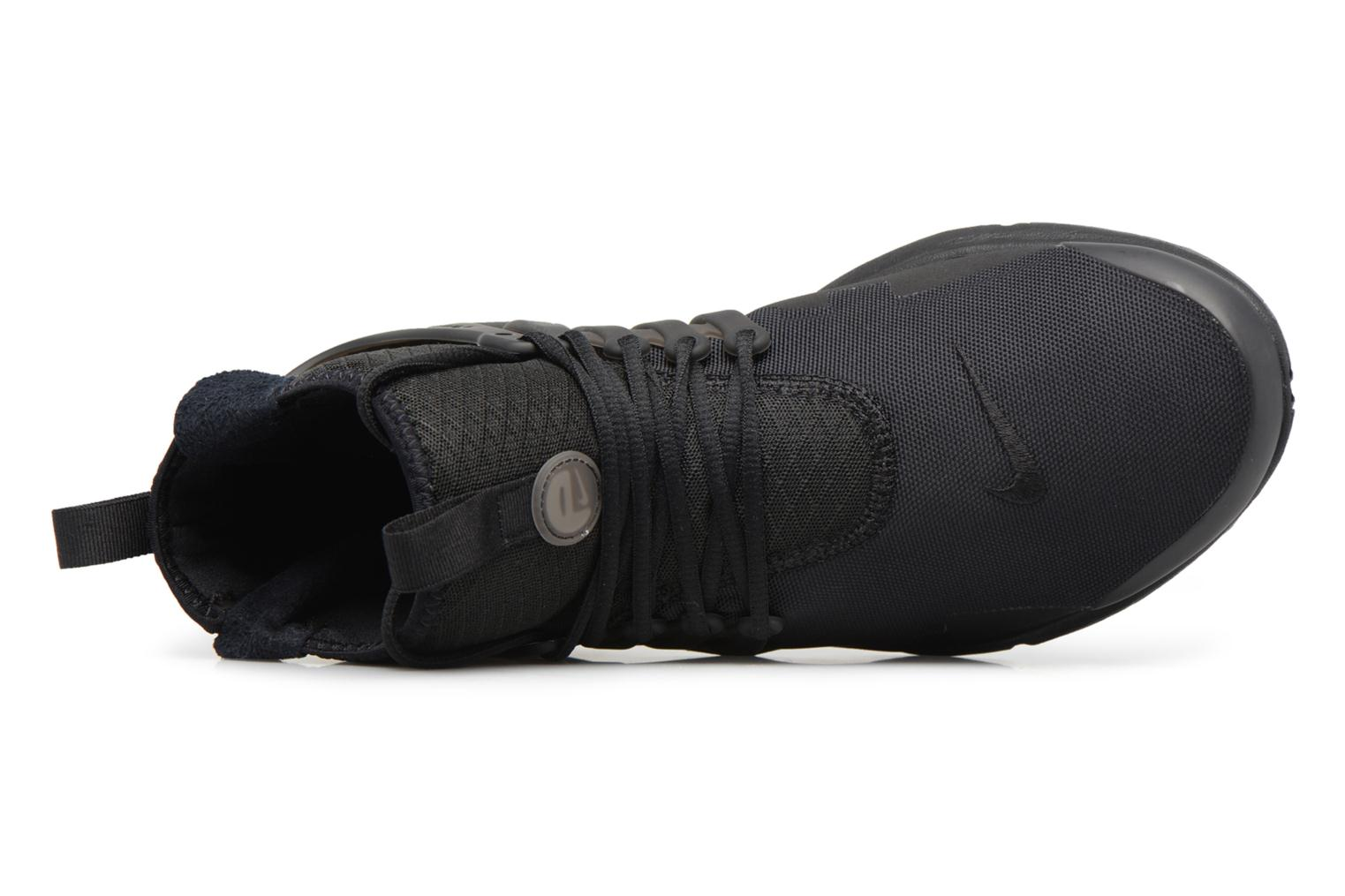 Trainers Nike Nike Air Presto Mid Utility Black view from the left