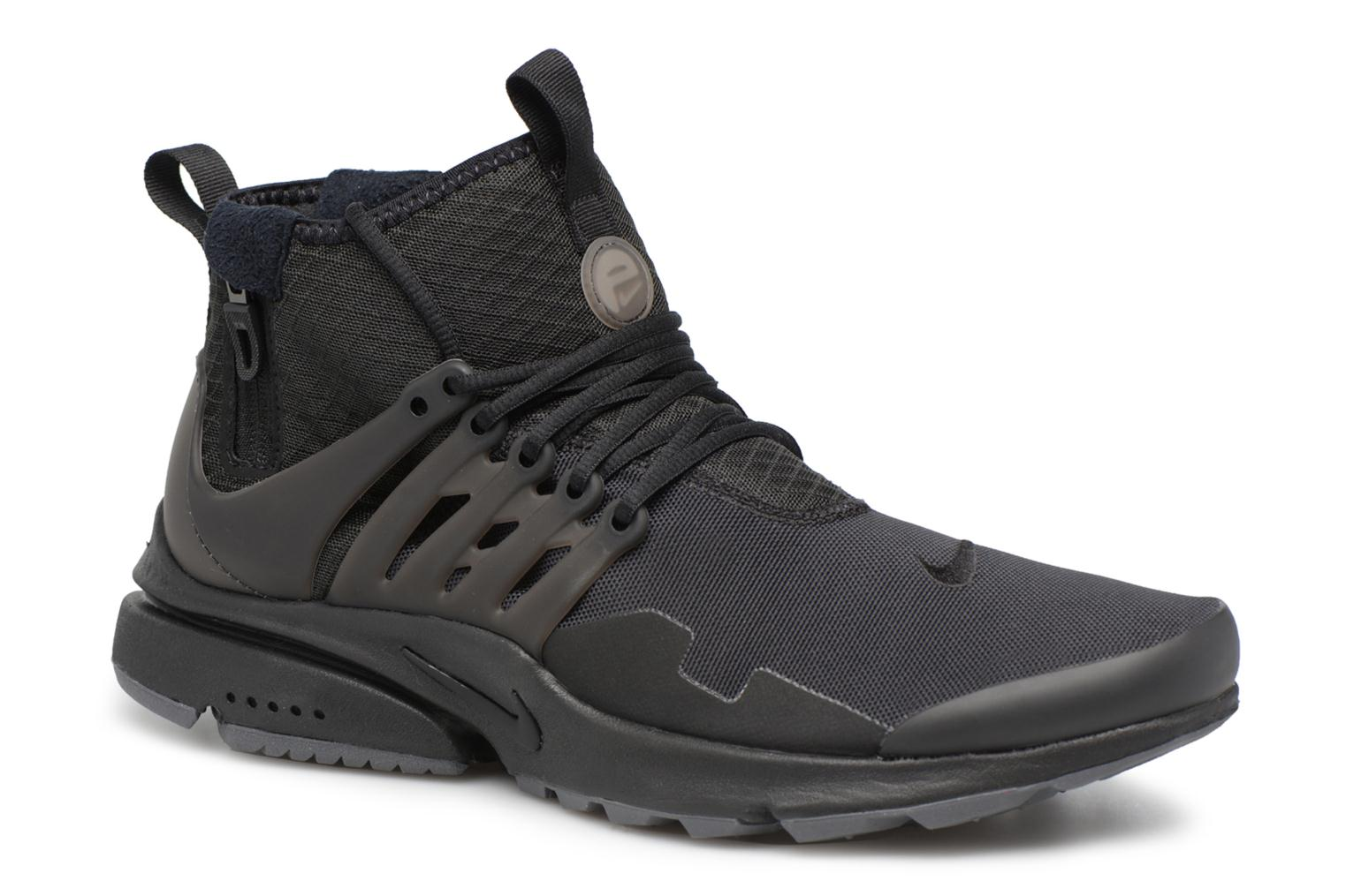 Trainers Nike Nike Air Presto Mid Utility Black detailed view/ Pair view