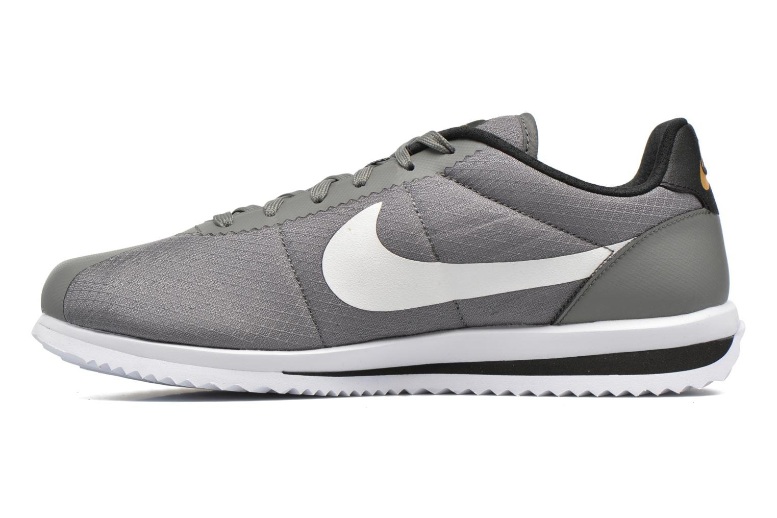 Nike Cortez Ultra Tumbled Grey/White-Black-Gold Leaf