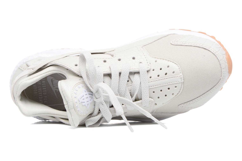 Sneaker Nike W Air Huarache Run Se beige ansicht von links