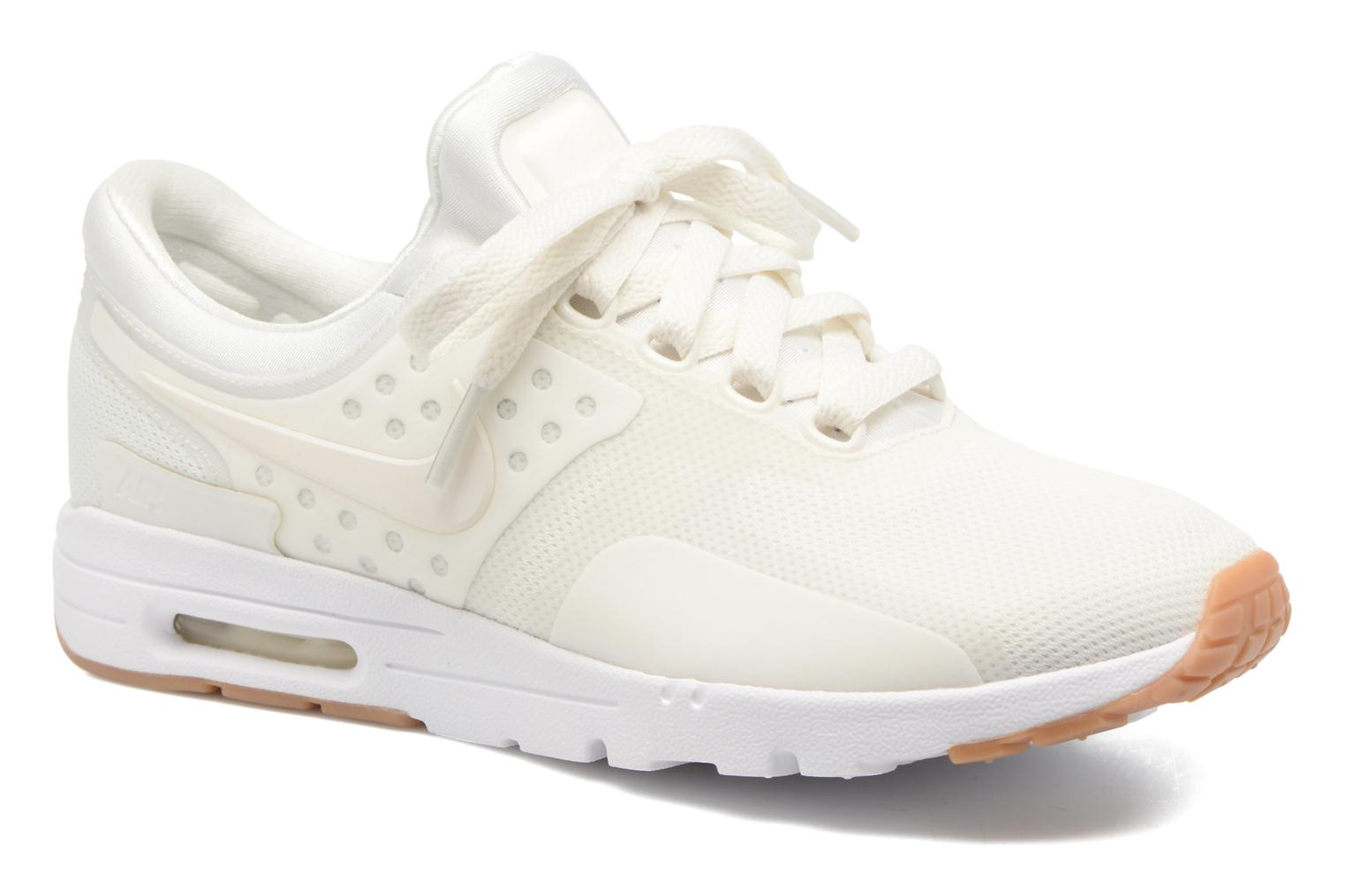 Trainers Nike W Air Max Zero White detailed view/ Pair view