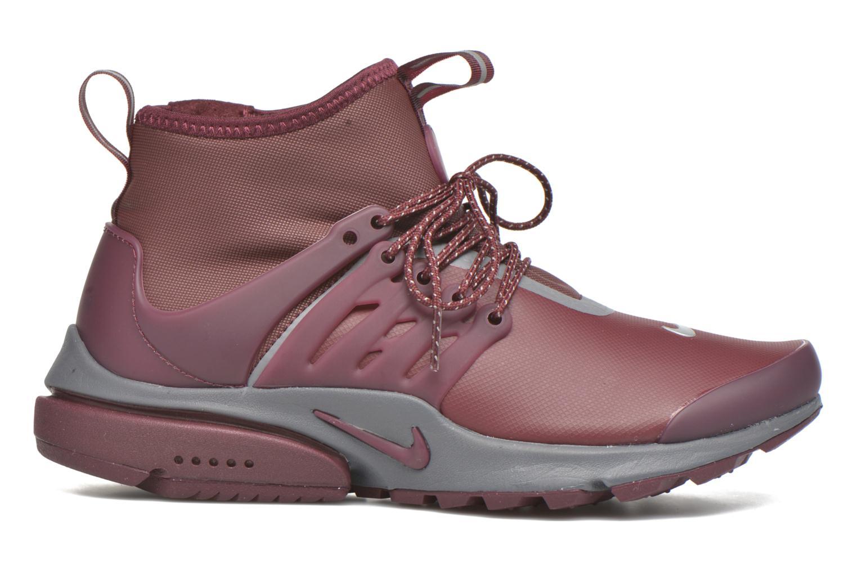 Sneaker Nike W Air Presto Mid Utility weinrot ansicht von hinten